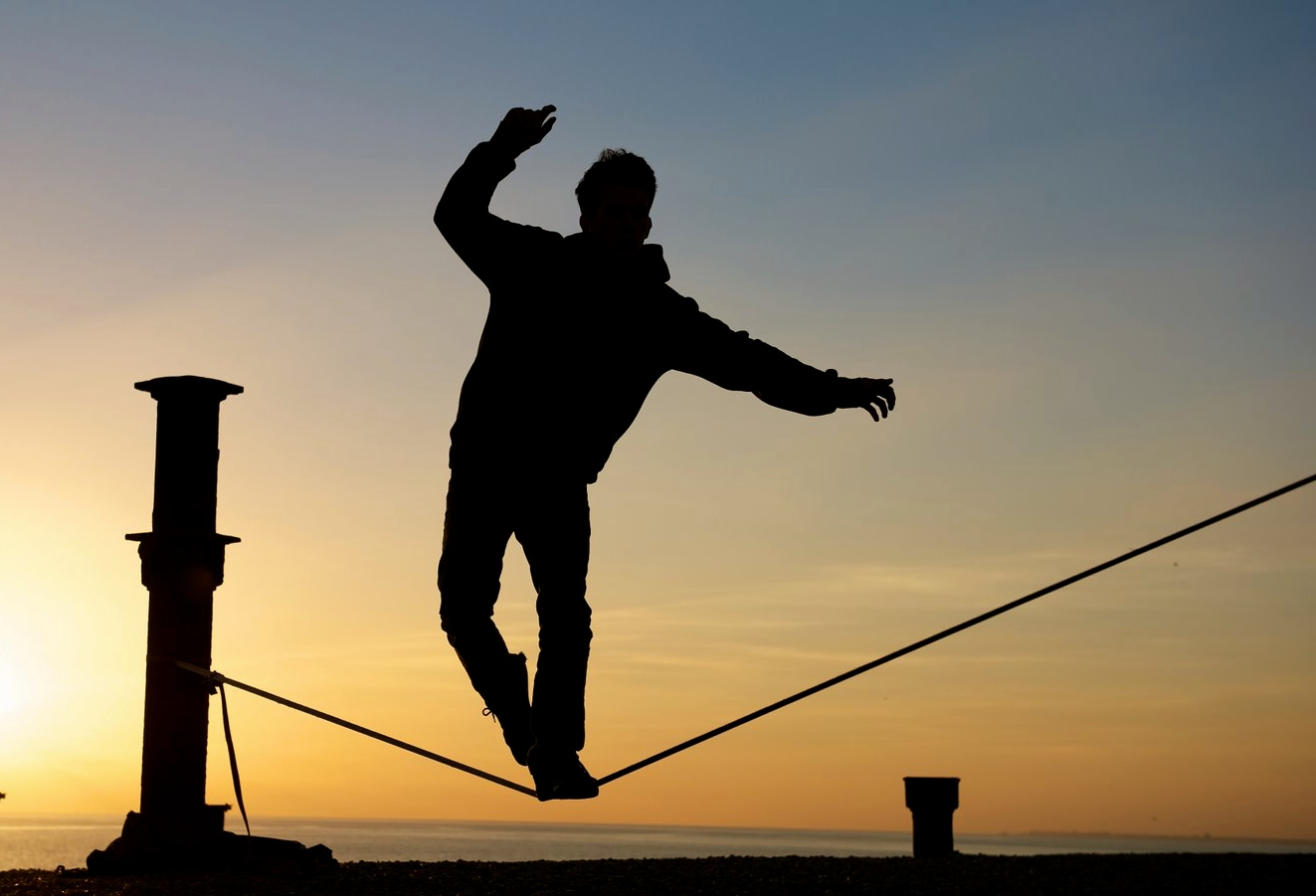 Image result for tight rope